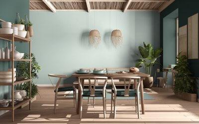 Kleurgebruik en technieken voor de muren van je woonkamer